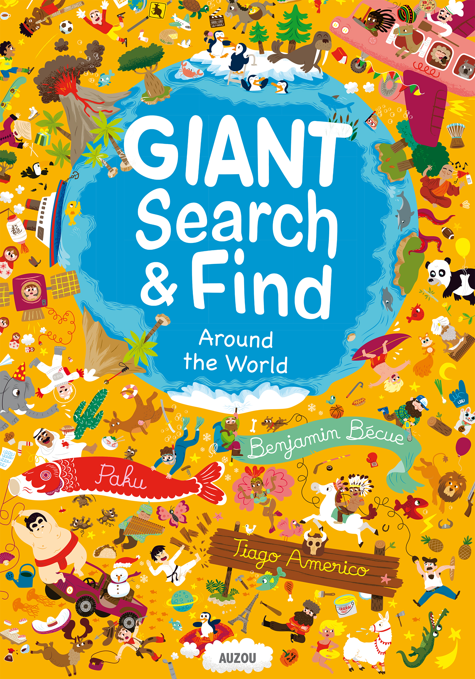 Giant search & find around the world